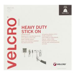 Velcro Heavy Duty Stick On White :: 50mm x 5m