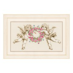 Counted Cross Stitch Kit: Angels