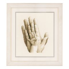 Counted Cross Stitch Kit: Hands