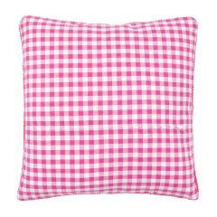 Cushion Back with Zipper: Pink: 45 x 62cm