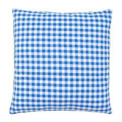 Cushion Back with Zipper: Blue: 45 x 45cm