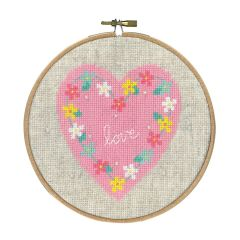 Counted Cross Stitch Kit: Lief! Love