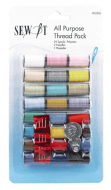 Sew It All Purpose Thread Pack 24 Spools