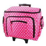 Sewing Machine Trolley Bag 47x38x24cm   Birch 006108-PINK-DOT
