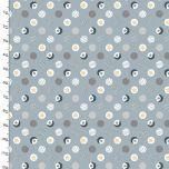 Cotton Craft Fabric 110cm x 1m Little Lion Collection - Dots
