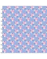 Cotton Craft Fabric 110cm wide x 1m Unicorn Utopia Collection - Flowers