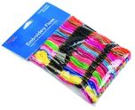 Embroidery Thread 36 Pack: Rainbow Colours
