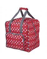 Overlocker Bag Red Dot 38 x 35.5 x 33 cm - Sew Stylish PT650-RED-POLKA