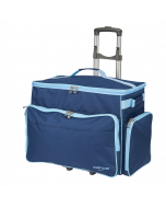 Sewing Machine Trolley Navy Large 53 x 34 x 29cm - Sew Stylish PT850-NAVY