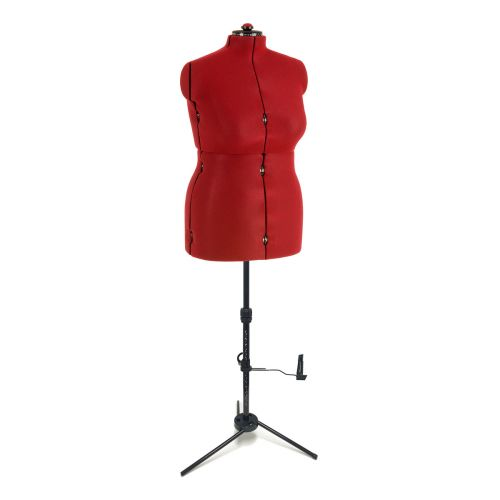Ladies Standard 8-Part Dressmaking Dummy Full Figure UK 20-22 Adjustoform FG014