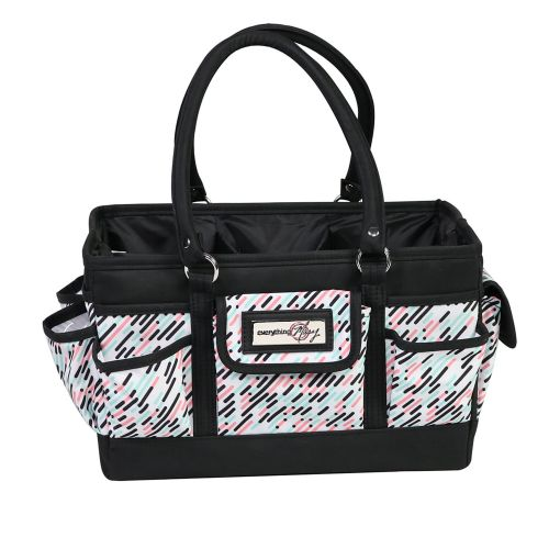 Everything Mary 12619-2 Pill Print Deluxe Store & Tote Caddy, Desk Space Craft Organiser
