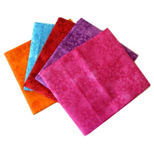 Fat Quarter Bundle Top Texture 1 | Pack of 5 Fat Quarters by Sewing Online FE0036