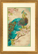 Indian Peacock Counted Cross Stitch Kit