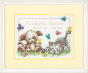 Counted Cross Stitch Kit Pet Friends Birth Record