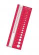 Red Needle Size Gauge