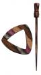 Symfonie Wood Lilac Shawl Pins With Stick :: Electra