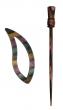 Symfonie Wood Lilac Shawl Pins With Stick :: Carina