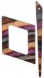 Symfonie Wood Lilac Shawl Pins With Stick :: Alpha