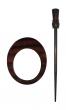 Symfonie Wood Rose Shawl Pins With Stick :: Omega