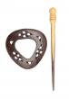 Symfonie Wood Exotica Series Shawl Pins With Stick :: Camara (KP026A)