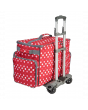 Sewing Trolley Red Dot  Large 53 x 34 x 29cm Sew Stylish PT850-RED-POLKA