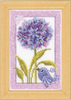Counted Cross Stitch Kit Agapanthus