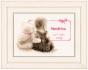 Counted Cross Stitch Birth Record Cuddle Teddy