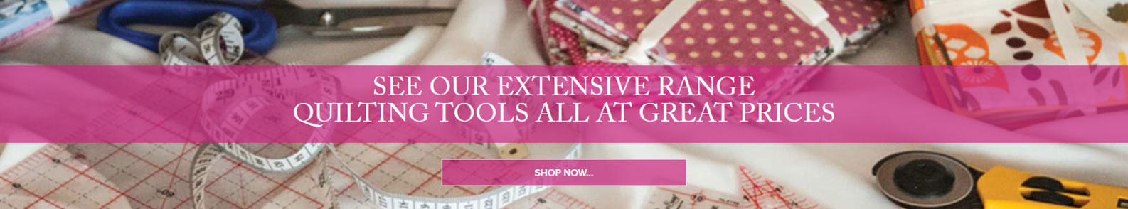 See Our Extensive Range Quilting Tools All At Great Prices
